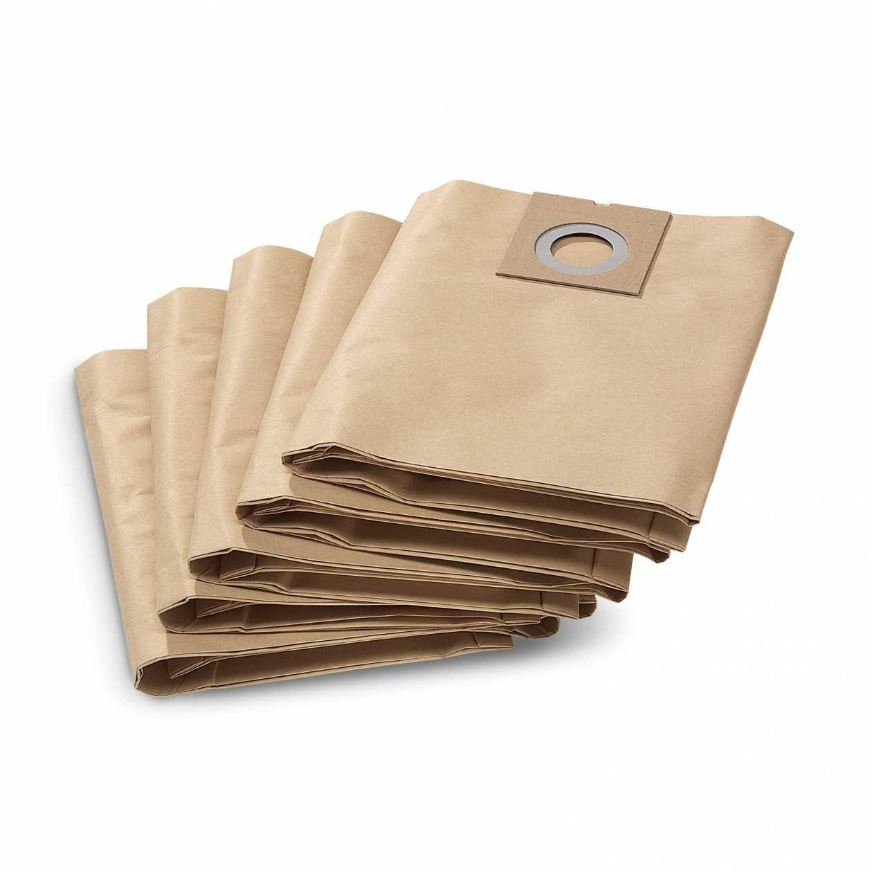 Filtre Papier Double Pour Aspirateur Karcher Nt27/1 Sacs Papier